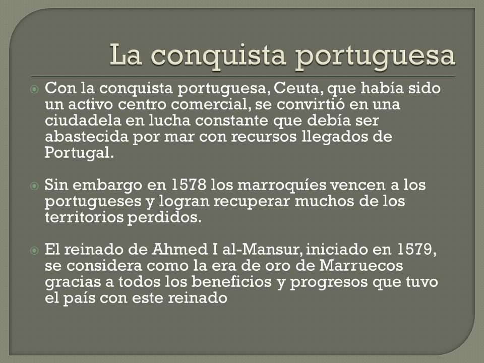 La conquista portuguesa