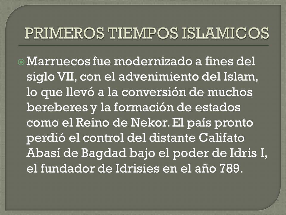 PRIMEROS TIEMPOS ISLAMICOS