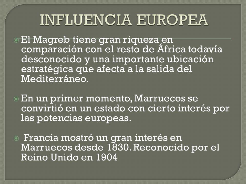 INFLUENCIA EUROPEA