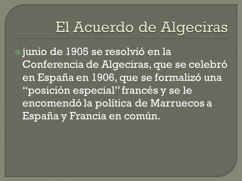 El Acuerdo de Algeciras