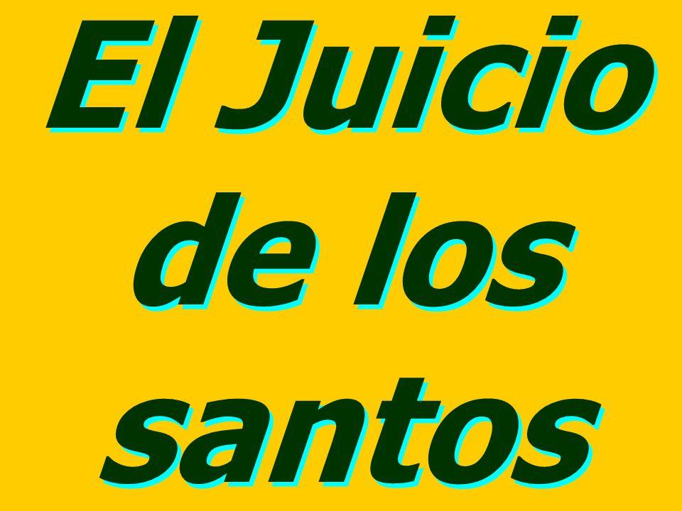 El Juicio de los santos