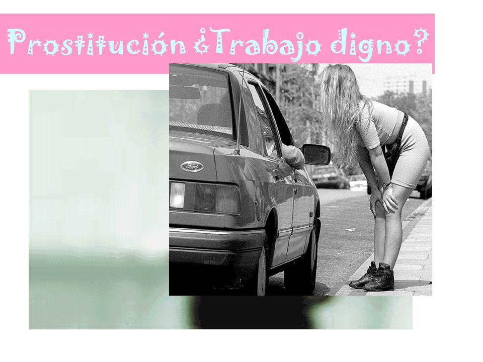 Prostitución ¿Trabajo digno