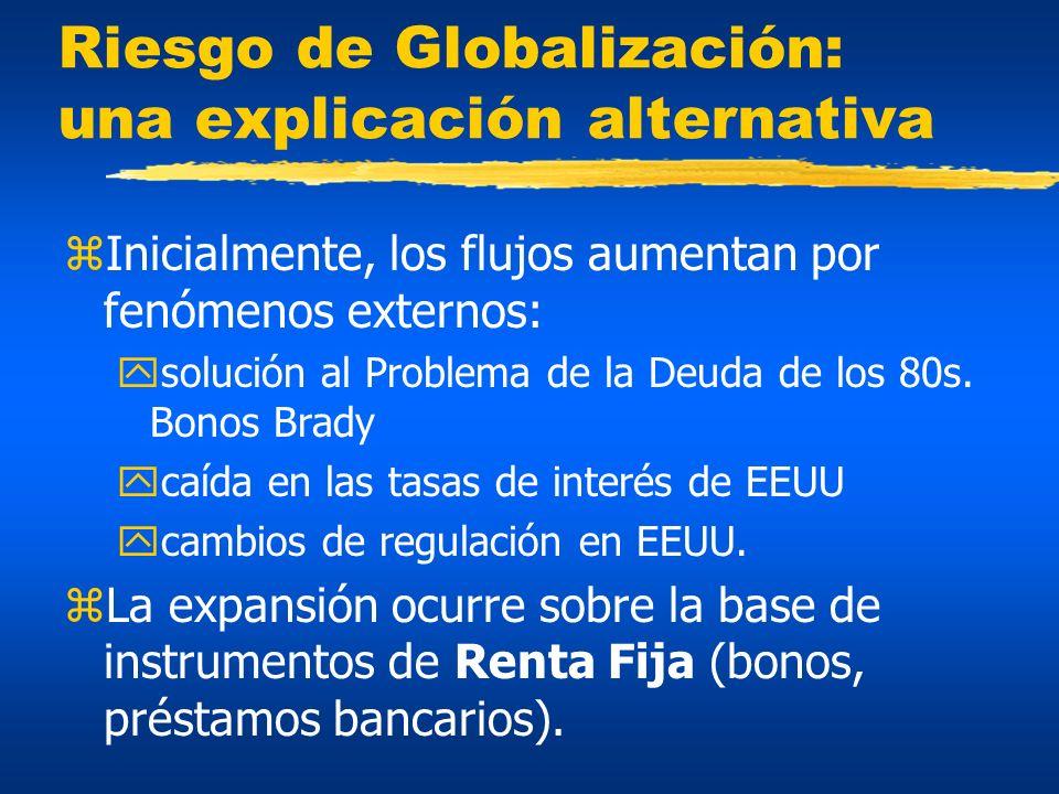 Riesgo de Globalización: una explicación alternativa