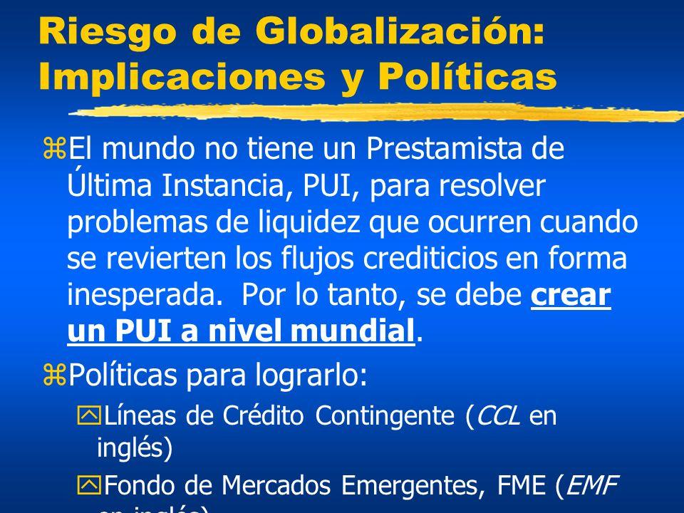 Riesgo de Globalización: Implicaciones y Políticas