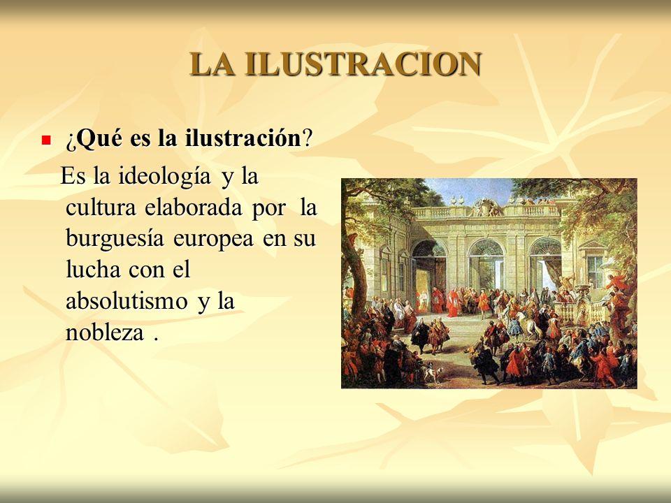 LA ILUSTRACION ¿Qué es la ilustración