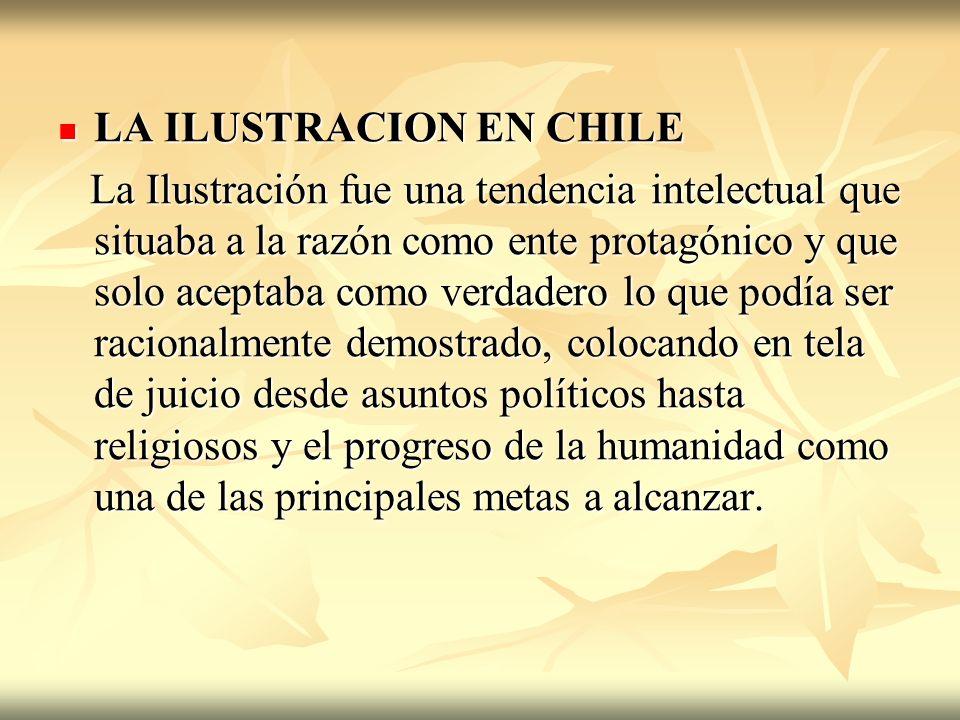 LA ILUSTRACION EN CHILE