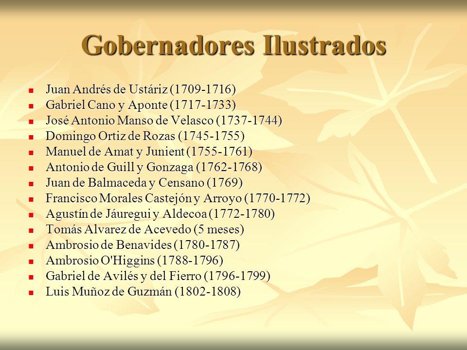 Gobernadores Ilustrados