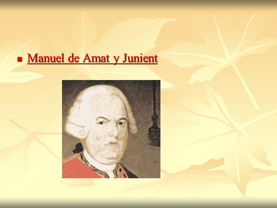 Manuel de Amat y Junient