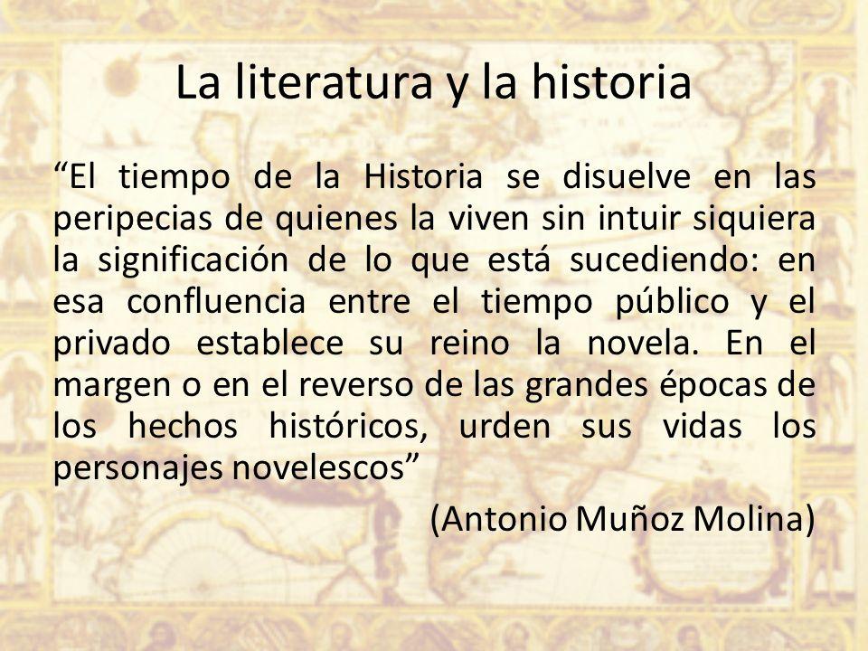 La literatura y la historia