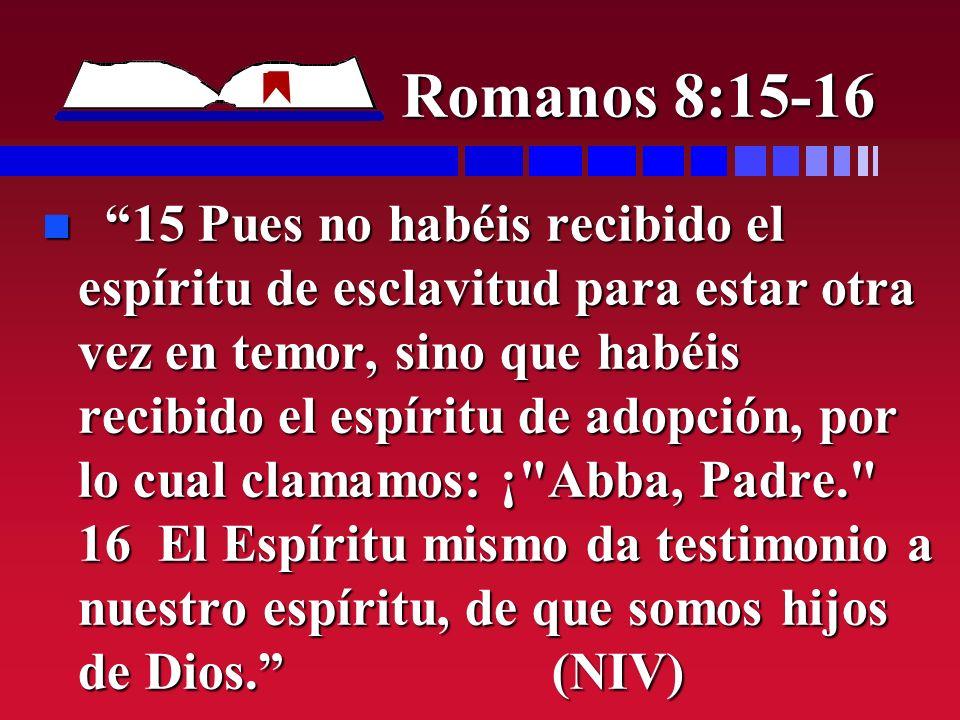 Romanos 8:15-16