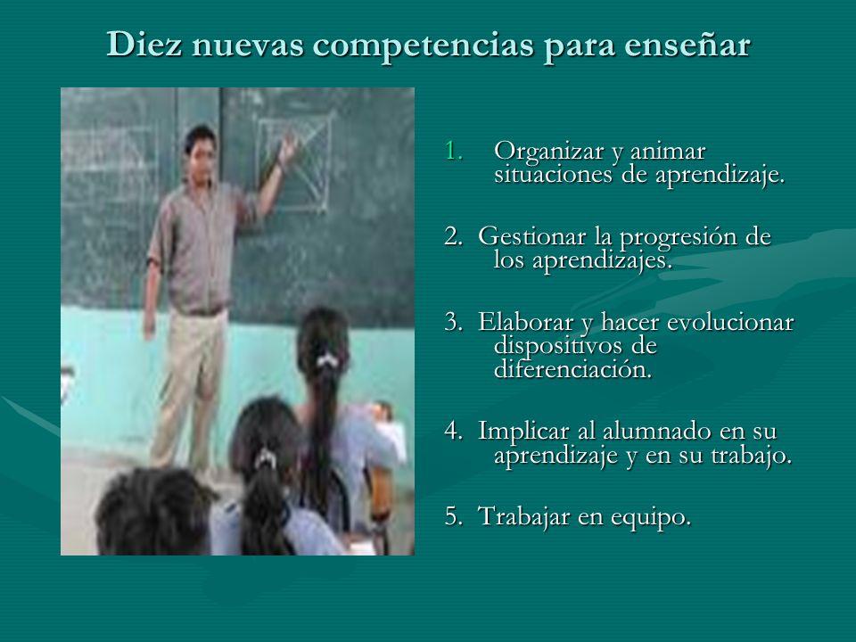 Diez nuevas competencias para enseñar