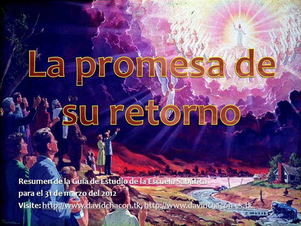 La promesa de su retorno