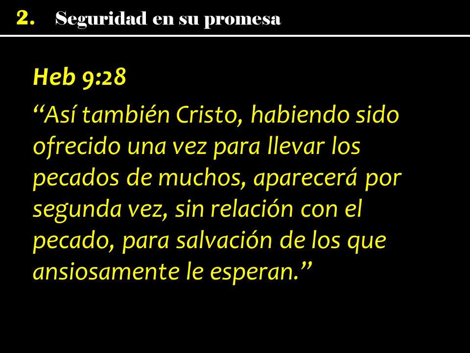 Heb 9:28