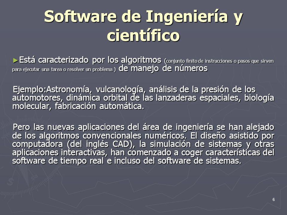 Software de Ingeniería y científico