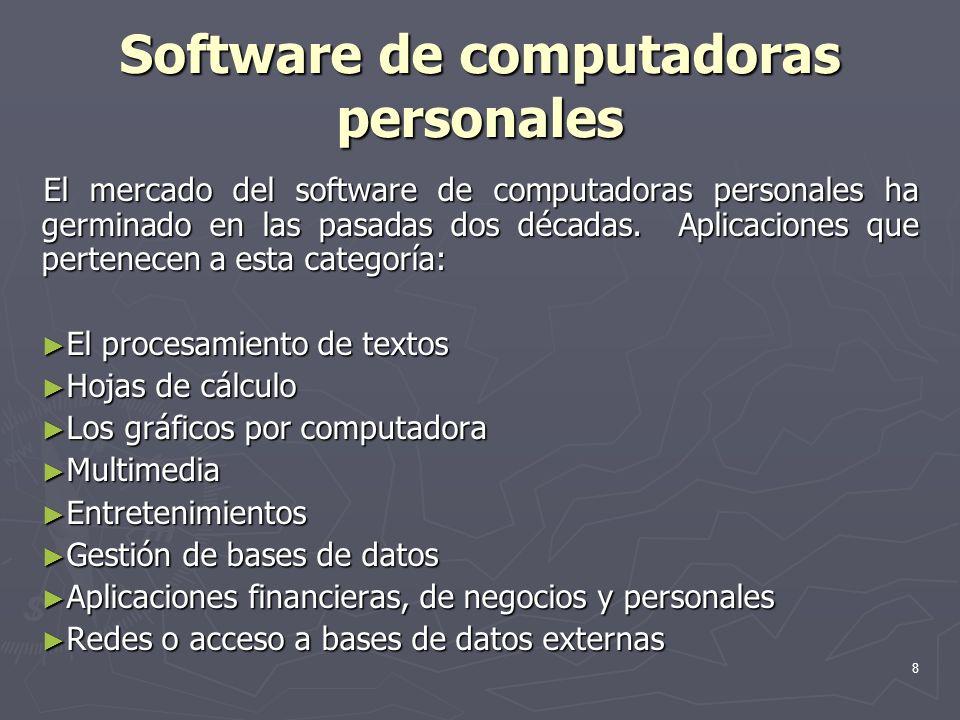Software de computadoras personales