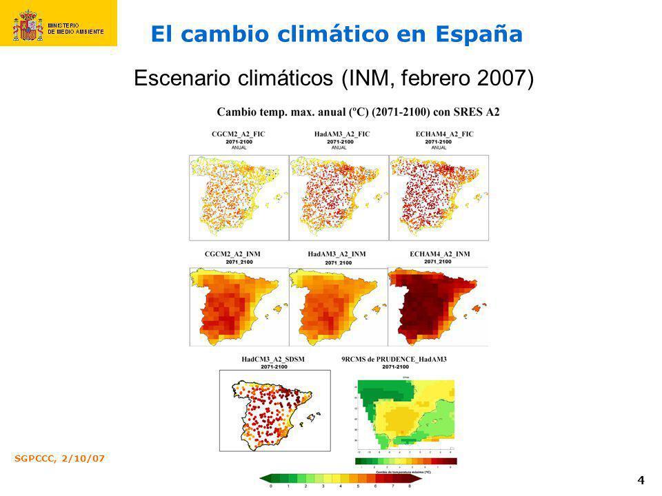 Calidad del aire y cambio clim tico en espa a ppt descargar - Oficina espanola de cambio climatico ...