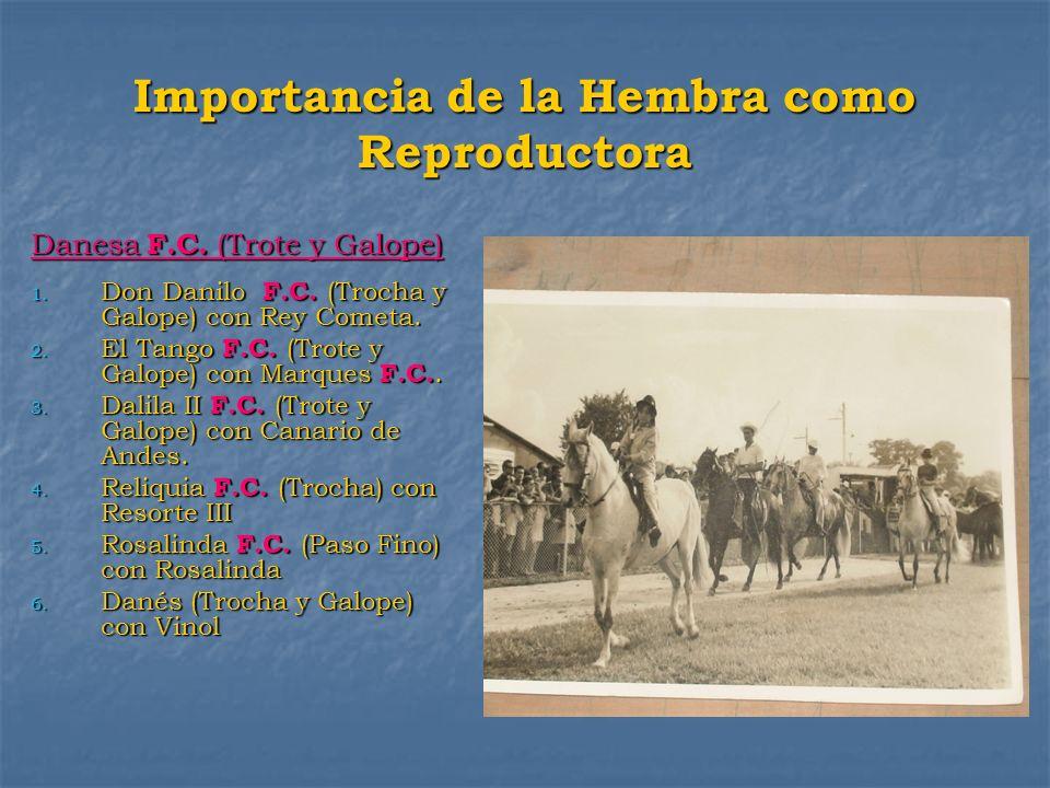 Importancia de la Hembra como Reproductora