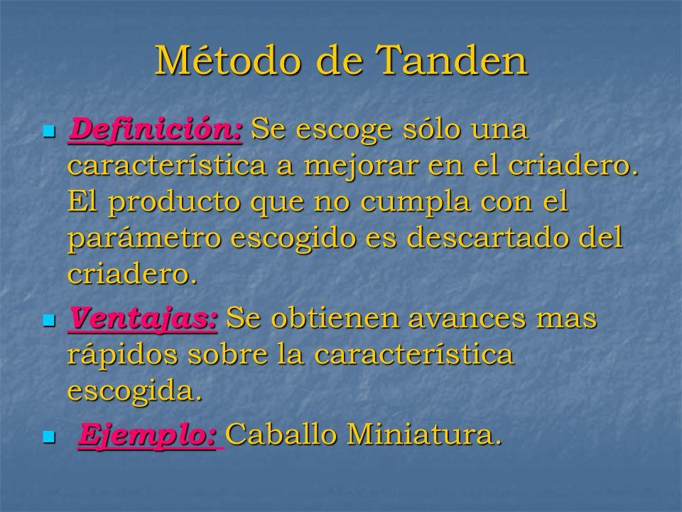 Método de Tanden