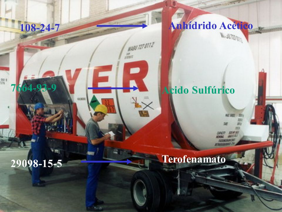 Anhídrido Acético 108-24-7 7664-93-9 Acido Sulfúrico Terofenamato 29098-15-5