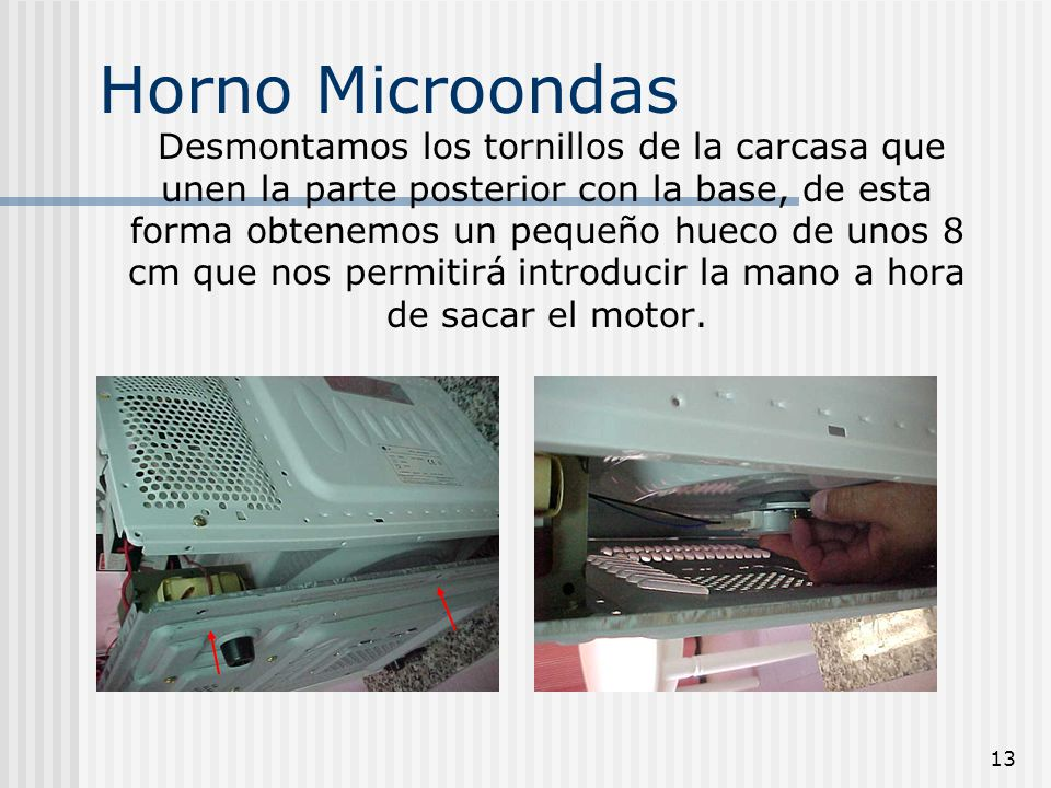 Ventilador del magnetron quemado plato giratorio no - Horno microondas pequeno ...
