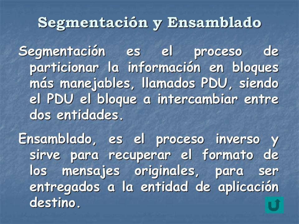 Segmentación y Ensamblado