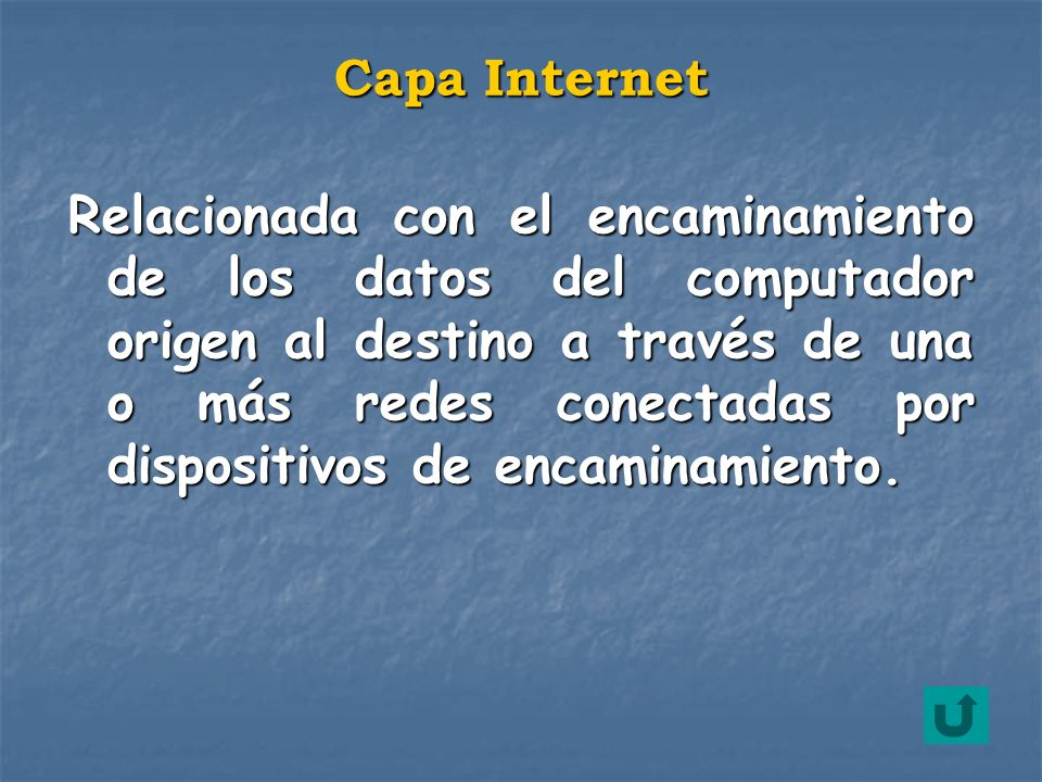 Capa Internet