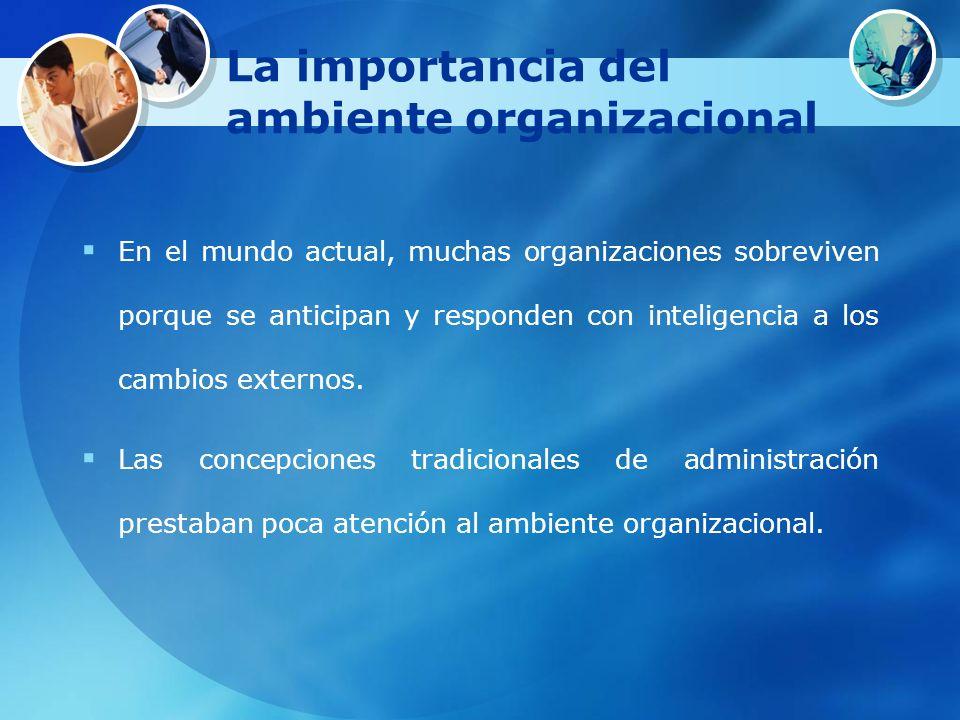 La importancia del ambiente organizacional