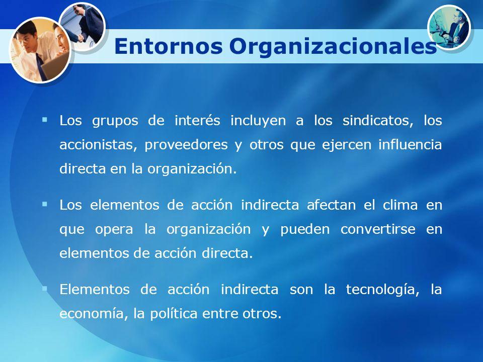 Entornos Organizacionales