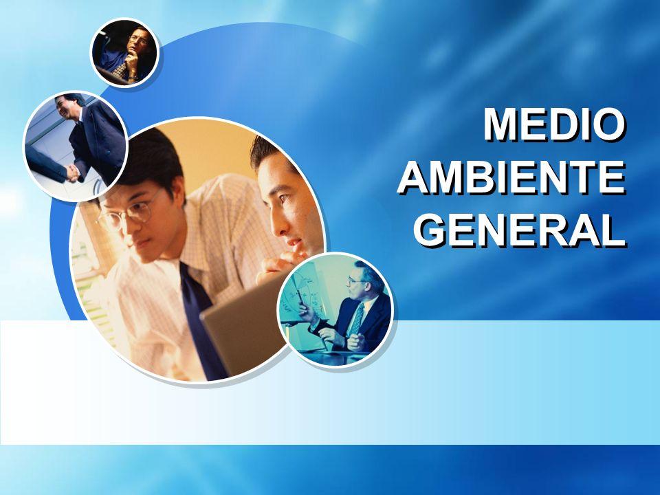 MEDIO AMBIENTE GENERAL