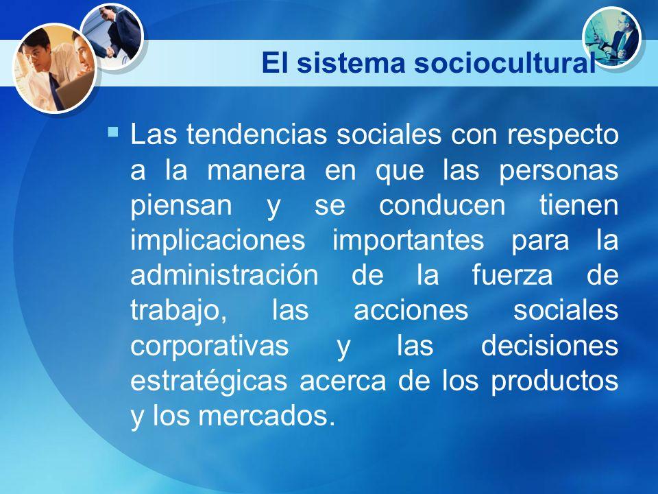 El sistema sociocultural