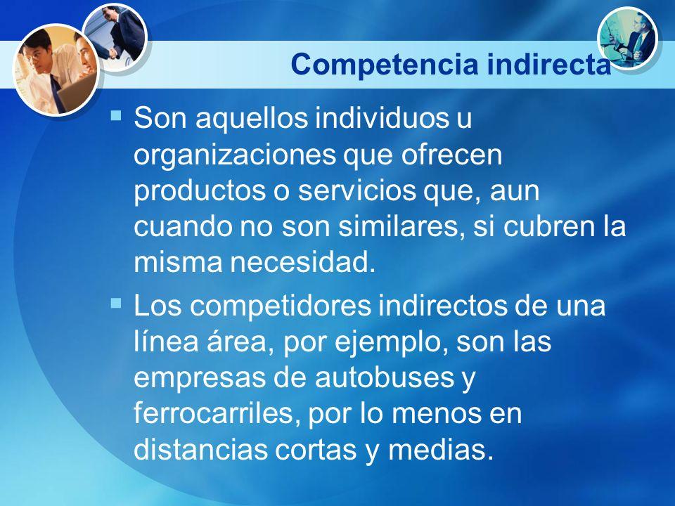 Competencia indirecta