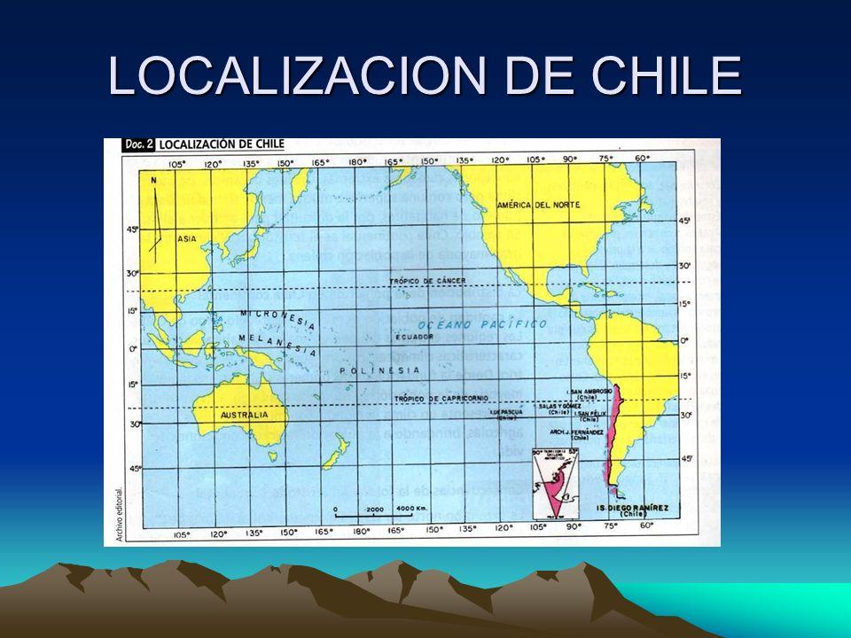 LOCALIZACION DE CHILE