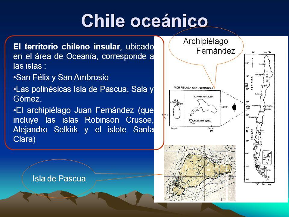 Chile oceánico Archipiélago Juan Fernández