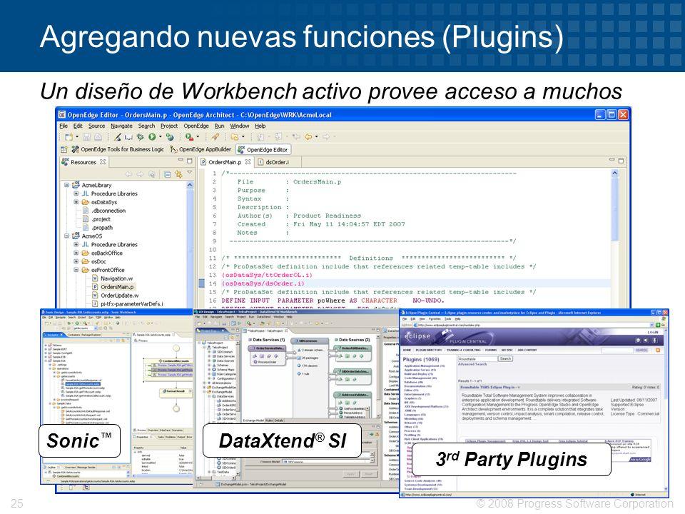 Agregando nuevas funciones (Plugins)