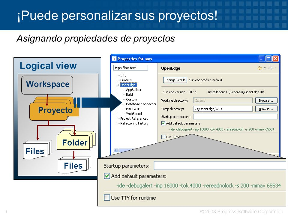 ¡Puede personalizar sus proyectos!
