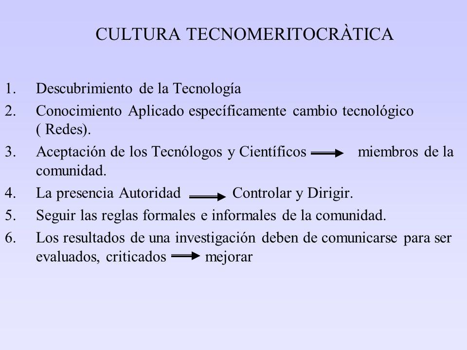 CULTURA TECNOMERITOCRÀTICA