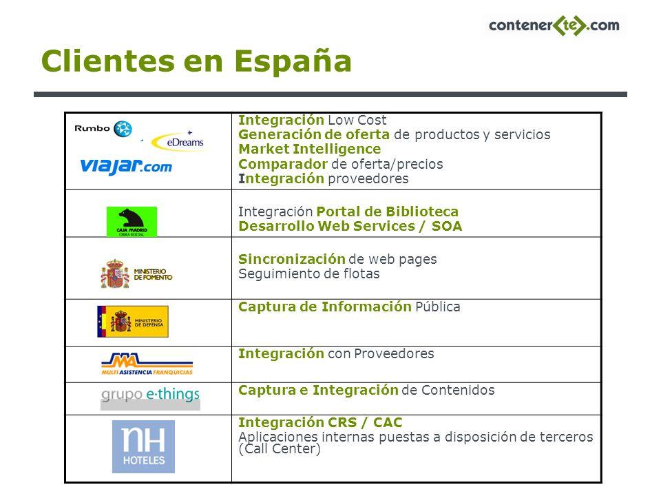 Clientes en España Integración Low Cost