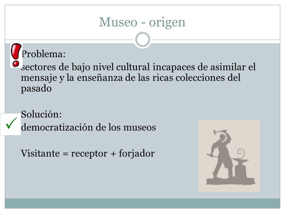 Museo - origen