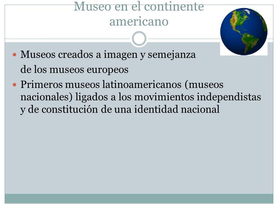 Museo en el continente americano