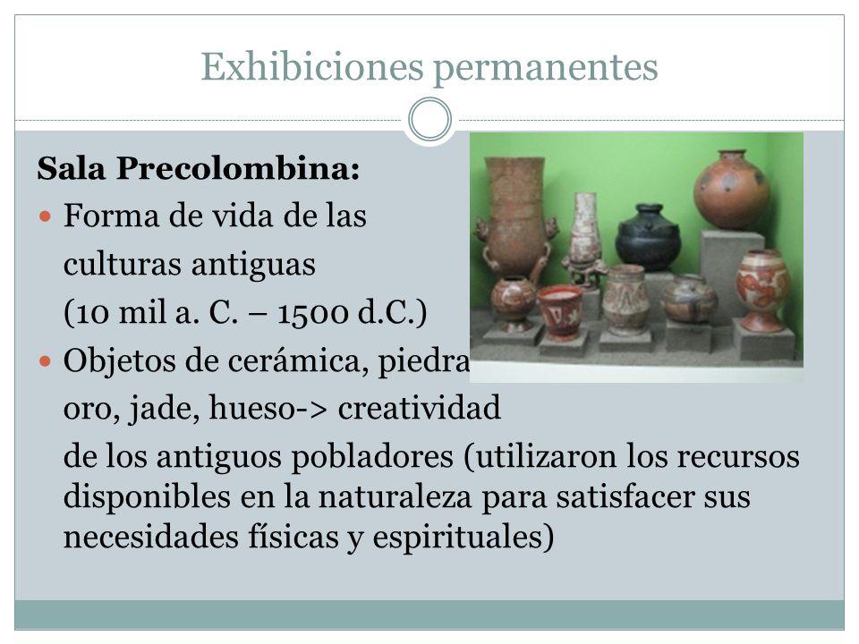 Exhibiciones permanentes
