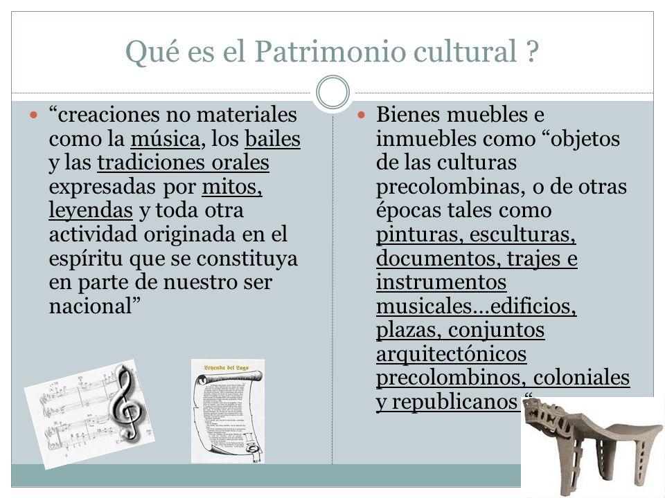 Qué es el Patrimonio cultural