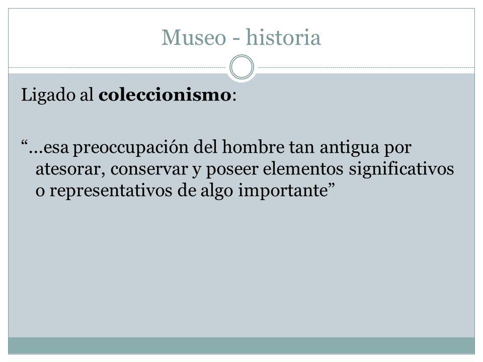 Museo - historia
