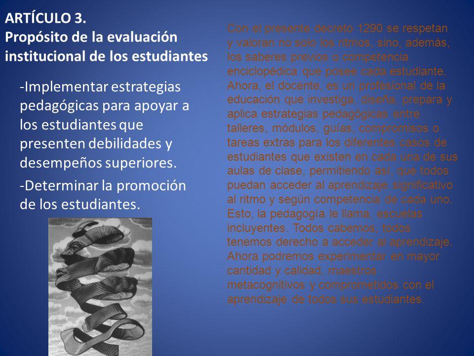 -Determinar la promoción de los estudiantes.