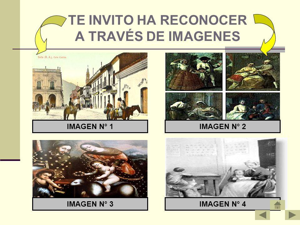 TE INVITO HA RECONOCER A TRAVÉS DE IMAGENES