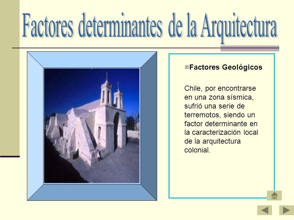 Factores determinantes de la Arquitectura