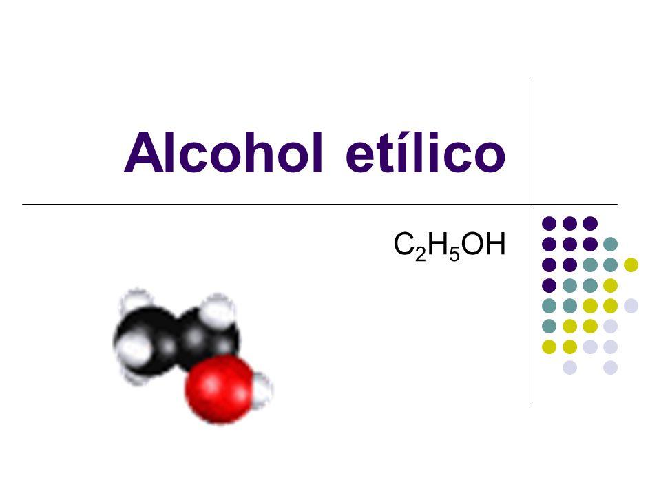 Alcohol etílico C2H5OH