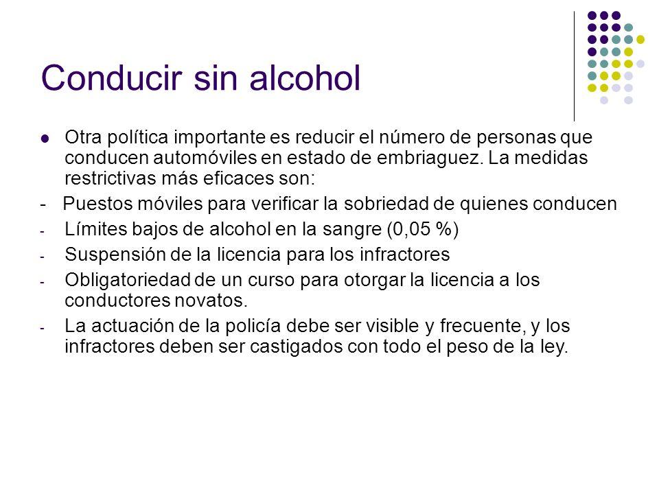 Conducir sin alcohol