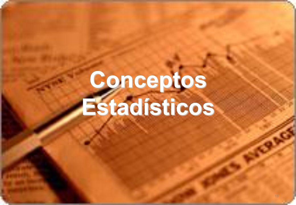Conceptos Estadísticos