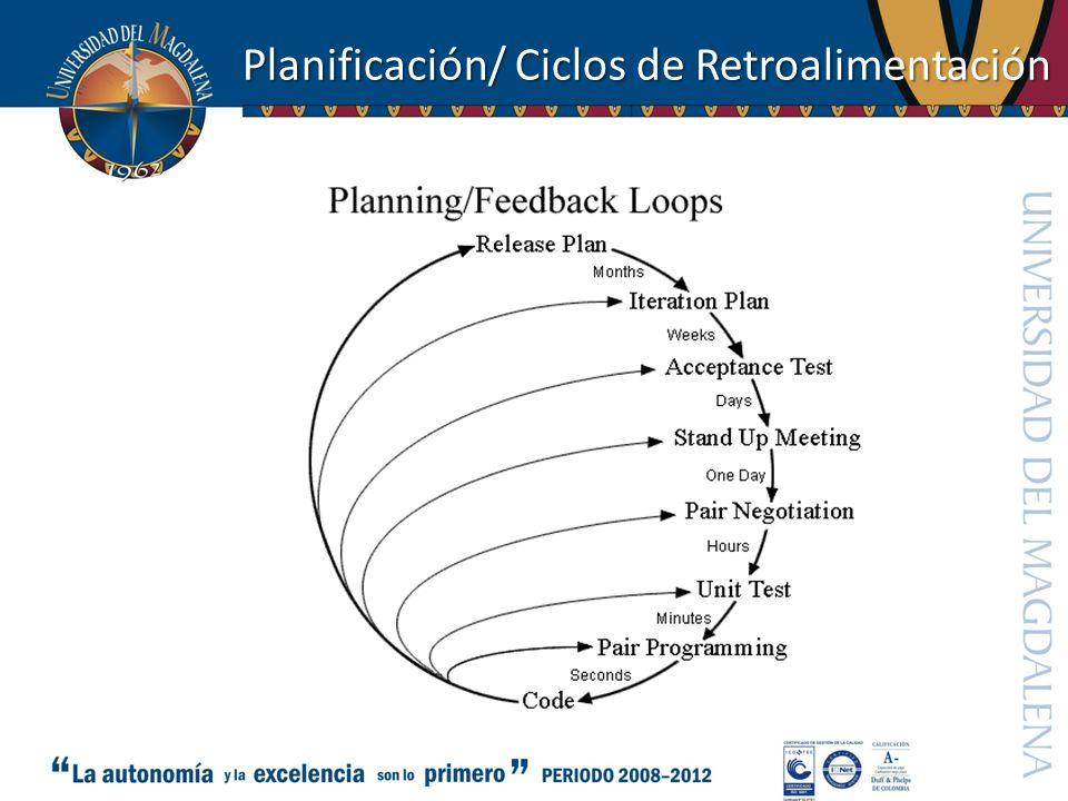 Planificación/ Ciclos de Retroalimentación