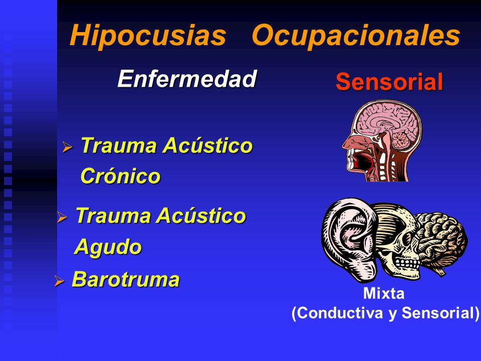 Hipocusias Ocupacionales
